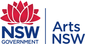 Arts NSW logo.