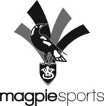 Magpie Sports logo.