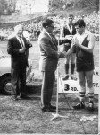 1965 Noel Reading receiving his medal