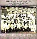 1937 NSWAFL Team v Melbourne FC small