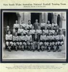 1953 NSW Team v QLD in Brisbane