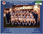 1998 NSW AFL team - Bendigo small