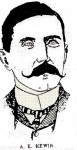 A E Kewin, Secretary NSW Aust Football League 1903
