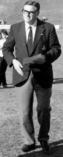 Bill Hart, President NSWAFL 1966-78