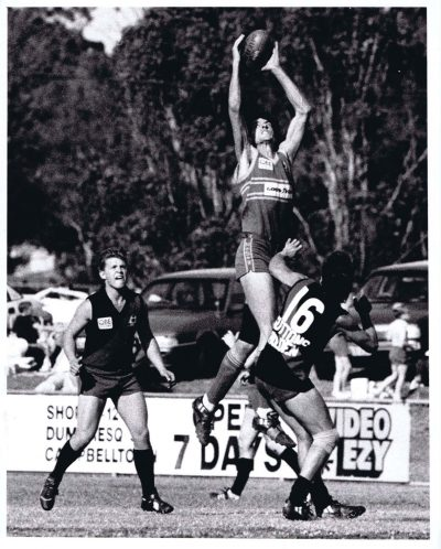 1991 North Shore v Holroyd-Parramatta at Monarch Field