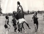 1975 South Sydney players training