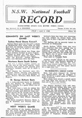1944-07-01 Sydney Football Record front page 1 small