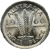 Threepence small