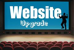 Website upgrade small