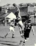 1958 - Grand Final - Jack Dean marks.