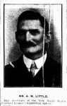 A M Little, Secretary NSWFL 1909-13