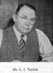 Les Taylor, president NSWANFL 1948-55