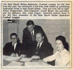The 1970 NSWAFL Staff