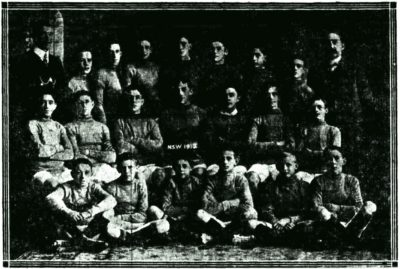 1912 NSW Schoolboys Team