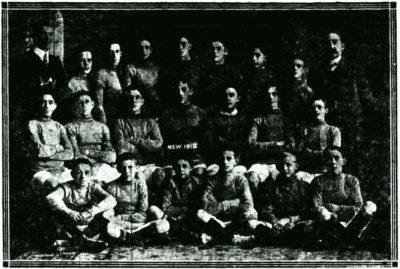 1912 NSW Schoolboys Team