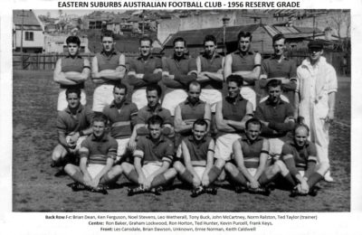 1956 Eastern Suburbs Reserve Grade